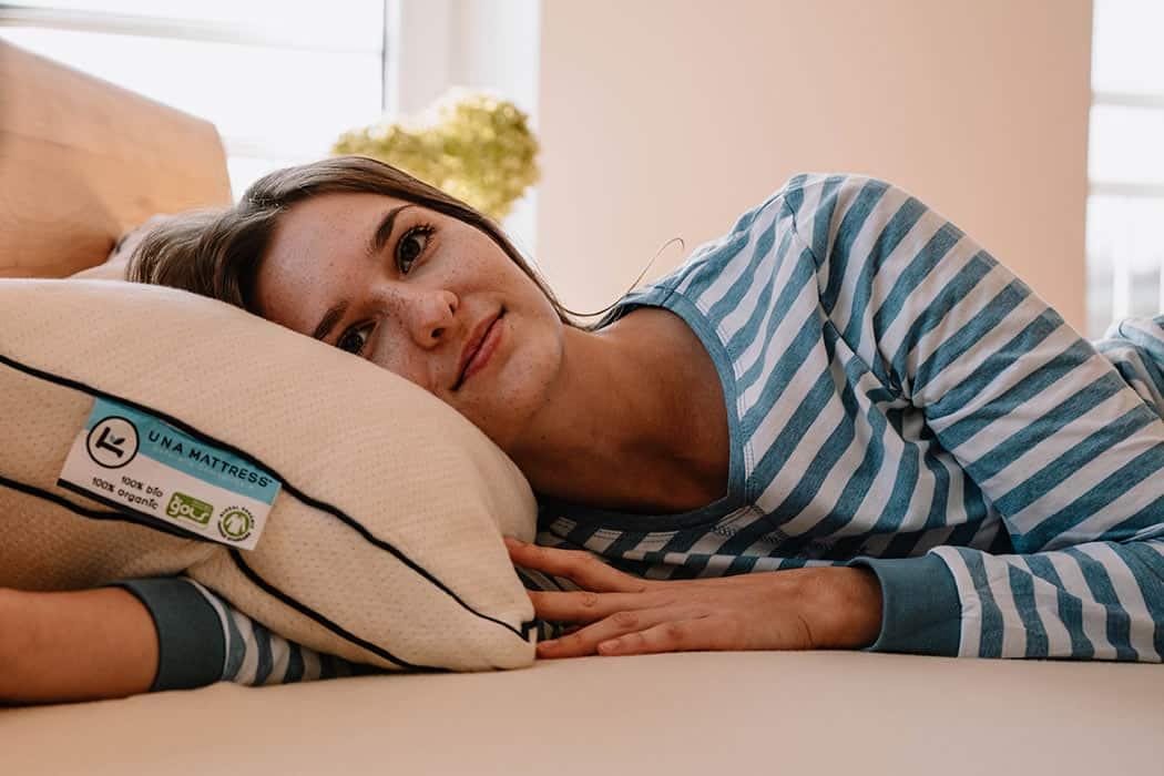 Latex pillow organic una 1050