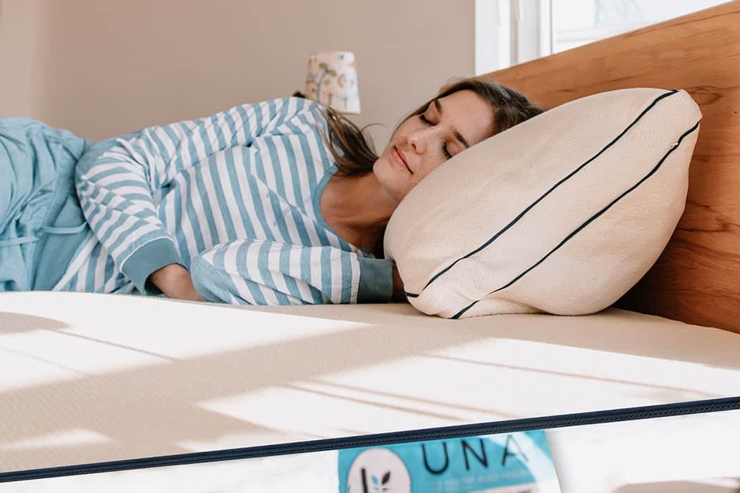 Natural latex mattress delux eva 1050