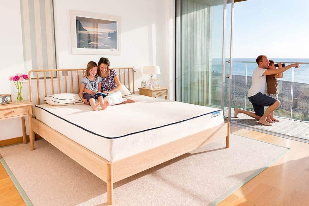 Natural latex mattress una deluxe 1050