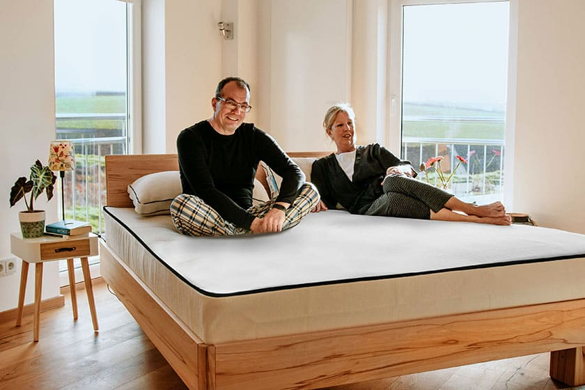 Organic Mattress UK Una Delux Couple 1
