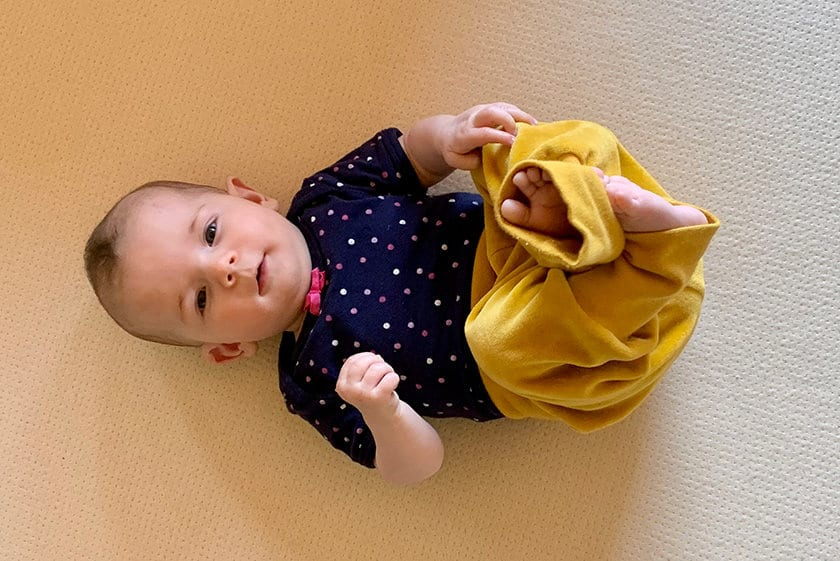 Organic baby mattress una 840