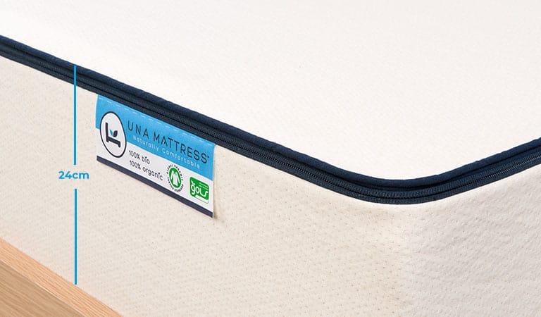 Organic-Mattress-Natural-Latex-UK-Una-24cm