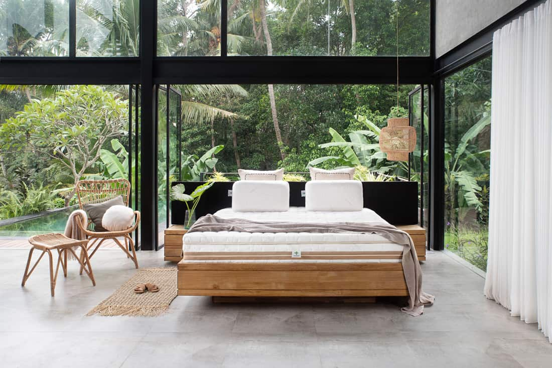 create an eco friendly bedroom with Heveya mattress by European Bedding 3